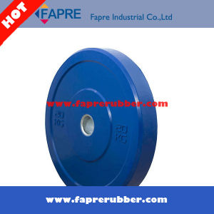 Barbell Rubber Olympic Bumper Plate Free Weight Plate Rubber Plate pictures & photos