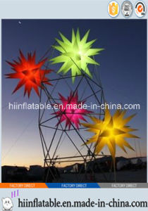 2015 Hot Selling LED Lighting Decorative Inflatable Star 0003