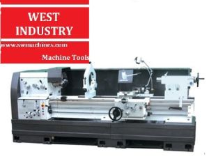 Large Spindle Bore Horizontal Lathe with CE Standard pictures & photos
