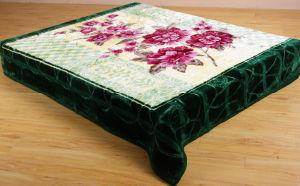 Korea Style Hot Compressed Raschel Blanket