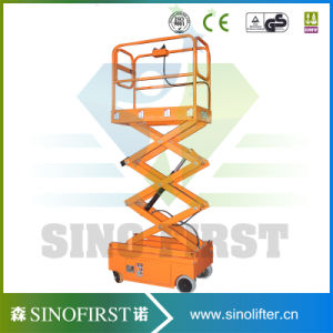 4m Light Stable Quality Portable Scissor Lift Aerial Platforms pictures & photos