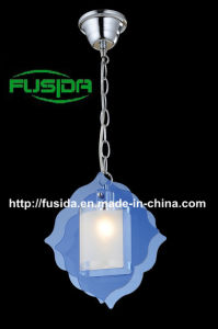 2014 New Design Colorfulpendant Light with Bule Glass (D-9348/1) pictures & photos