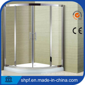304#Ss Sector Simple Shower Enclosure