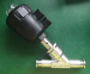 Pneumatic Angle Seat Valve Clamp End pictures & photos
