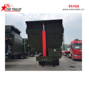 40cbm Dump Semi Trailer pictures & photos