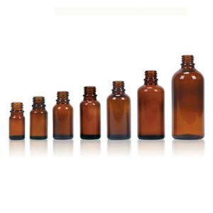 Amber Glass Bottle for Essential Oil, Neck Finish DIN18 pictures & photos