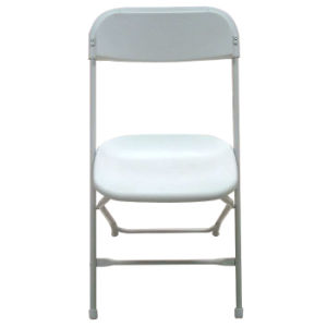 Plastic Folding Chair with Steel Frame pictures & photos