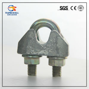 Forging Galvanized Carbon Steel DIN1142 Wire Rope Clip pictures & photos