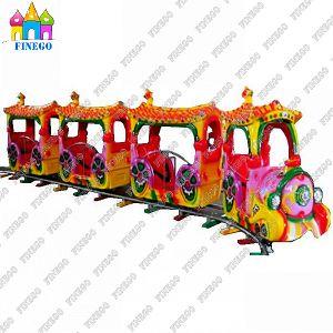 Children′s Electric Amusement Trackless Train pictures & photos