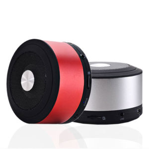 Aluminium Case Bluetooth Speaker Supports Micro SD Card pictures & photos