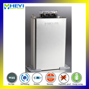 25kvar Electric Power Saver Capacitor 440V 50Hz Three Phase Power Capacitor Bank pictures & photos