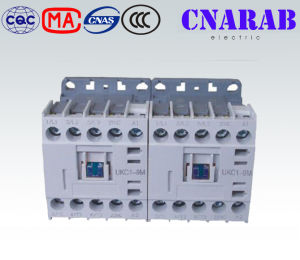 Mini Mechanical Interlocking Home AC Contactor 9A 3 Phase Contactor pictures & photos
