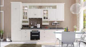 Mixed Kitchen Cabinet PVC Wood Kitchen Cabinet (zc-008) pictures & photos