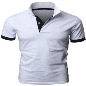China Cotton Plain White Polo T-Shirt - China White Polo T ...