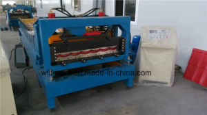 Corrugated Tripple Type Steel Tile Roll Forming Machine pictures & photos
