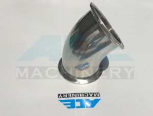 Clamped Sanitary Stainless Steel Elbows (ACE-WT-J8) pictures & photos