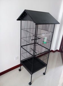 Large Pet Cage Factory/Top Quality Favored Price Metal Parrot Aviary pictures & photos