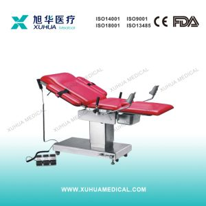 Stainless Steel Multifunctional Electric Obstetric Bed pictures & photos