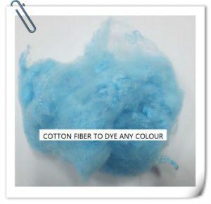 Polyester Spun Dye Fiber pictures & photos