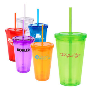 Double Walls Acrylic Tumbler as Promotional Mug pictures & photos
