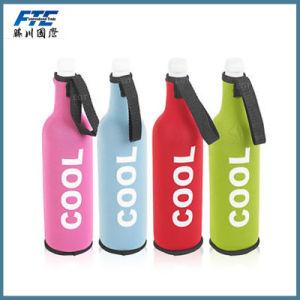 300ml Custom Logo Neoprene Beer Cooler with Handle pictures & photos