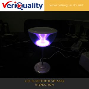 LED Bluetooth Speaker Production Inspection, Preshipment Inspection Service pictures & photos