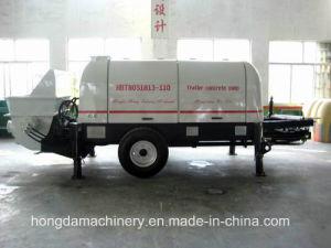 Diesel Engine Trailer Concrete Pump pictures & photos