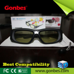 Universal 3D Active Shutter Glasses for IR and Bluetooth 3D Tvs (GBSG05-A)