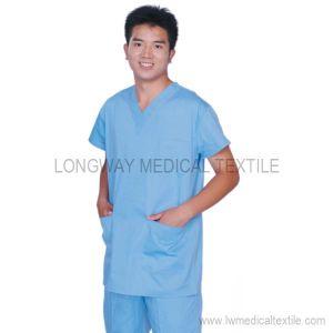 Light Blue Medical Scrub (S-0604)
