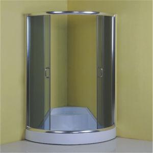 Bathroom Design Low Tray Chrome Frame Sliding Shower Enclosure pictures & photos
