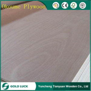 Thickness 2-18mm Poplar Core BB/CC Grade Commercial Plywood pictures & photos