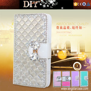 Diamond Leather Case for Blu Studio D850, Mobile Phone Case for Blu D850, Flip Cover for for Blu D850 pictures & photos