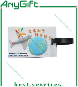PVC Luggage Tag with Customized Logo (LAG- PLT-12) pictures & photos