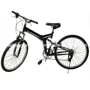 "New 26"" Folding 6 Speed Mountain Bike Bicycle School Sport Black pictures & photos"