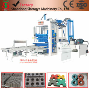 Fully Automatic Concrete Block Making Machine Qt10-15 pictures & photos