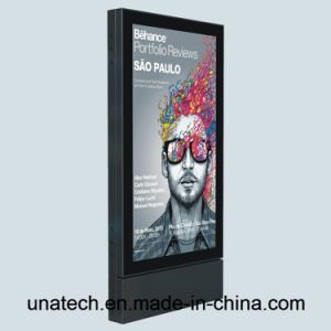 Advertising Outdoor Rail Way Station Photo Frame LED Luminous Scroller Signboard pictures & photos