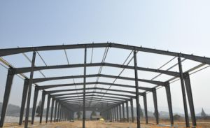 Environmental Frendly Prefab Easy Installation Steel Structure Warehouse /Workshop pictures & photos