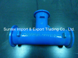 Ductile Iron Pipe Fittings, Tee, En545 pictures & photos