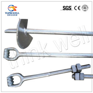 Hot DIP Galvanized Drop Forged Ground Anchor Rod pictures & photos