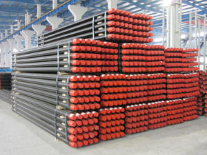 60*3000mm S135 Steel Drill Pipe (forged one piece drill rod) pictures & photos