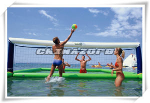 Popular Water Sport Game Inflatable Volleyball Game pictures & photos
