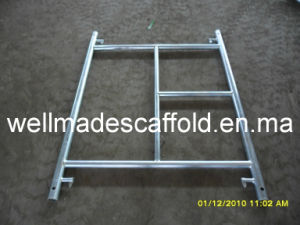 Steel Ladder Frame Scaffolding (Galvanized) pictures & photos