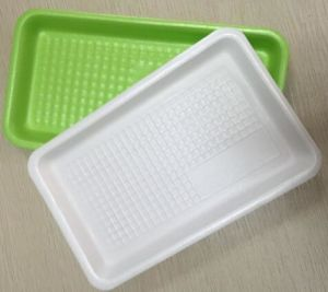Professional Manufacturer Disposable Foam Food Packaging Tray Polystyrene Meat Packing Tray pictures & photos