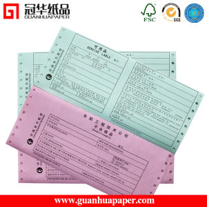 Printing Continuous Computer Paper Custom Continuous Paper Sizes pictures & photos