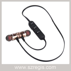 Best in Ear Wireless Metal Magnetic Stereo Bluetooth 4.0 Headphone pictures & photos