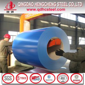 Aluzinc Zincalume Galvalume PPGL Color Coated Steel Coil pictures & photos