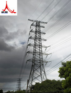 Manufacturing New Type Angle Steel Transmission Tower pictures & photos