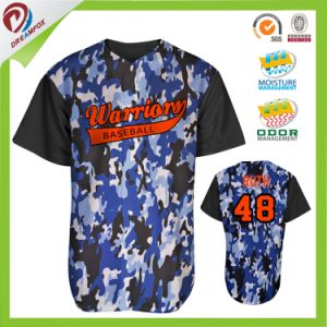 Wholesales Custom Cheap Blank China Baseball Jerseys Sublimated pictures & photos