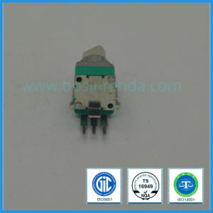 9mm Rotary Potentiometer with Push Switch pictures & photos