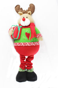 Christmas Plush Decoration by Deer Design